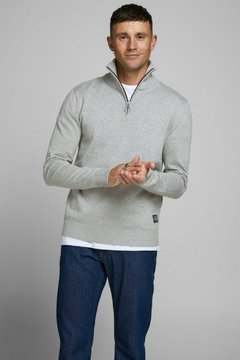 JORELI KNIT HIGH NECK ZIP