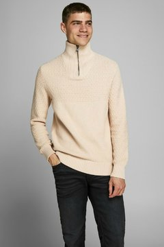 JPRBLUCARLIN KNIT HALF ZIP JACK AND JONES