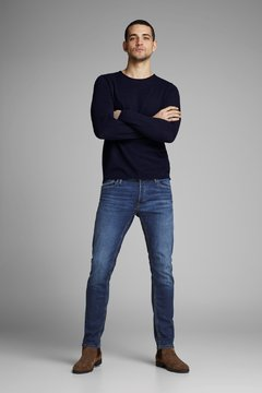 DENIM JACK AND JONES SLIMFIT FIT STRAIGHT LEG