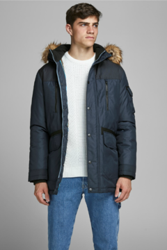JACK AND JONES JCOGLOBE PARKA