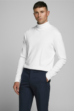 JPRBLARAY TEE LS ROLL NECK JACK AND JONES